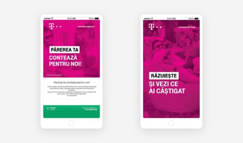 Telekom campaigns at Untold