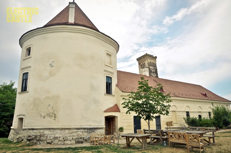 Part of the Banffy Castle