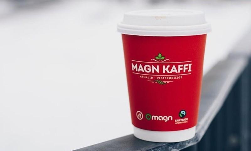 A cup of Magn Kaffi