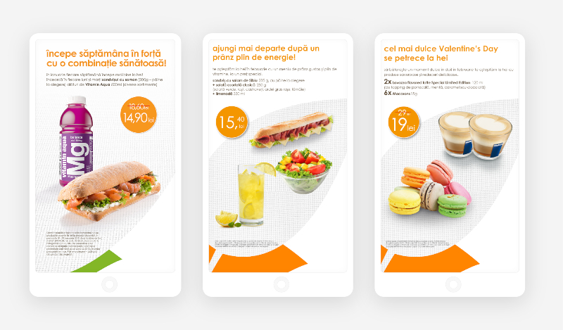 Food combo campaigns