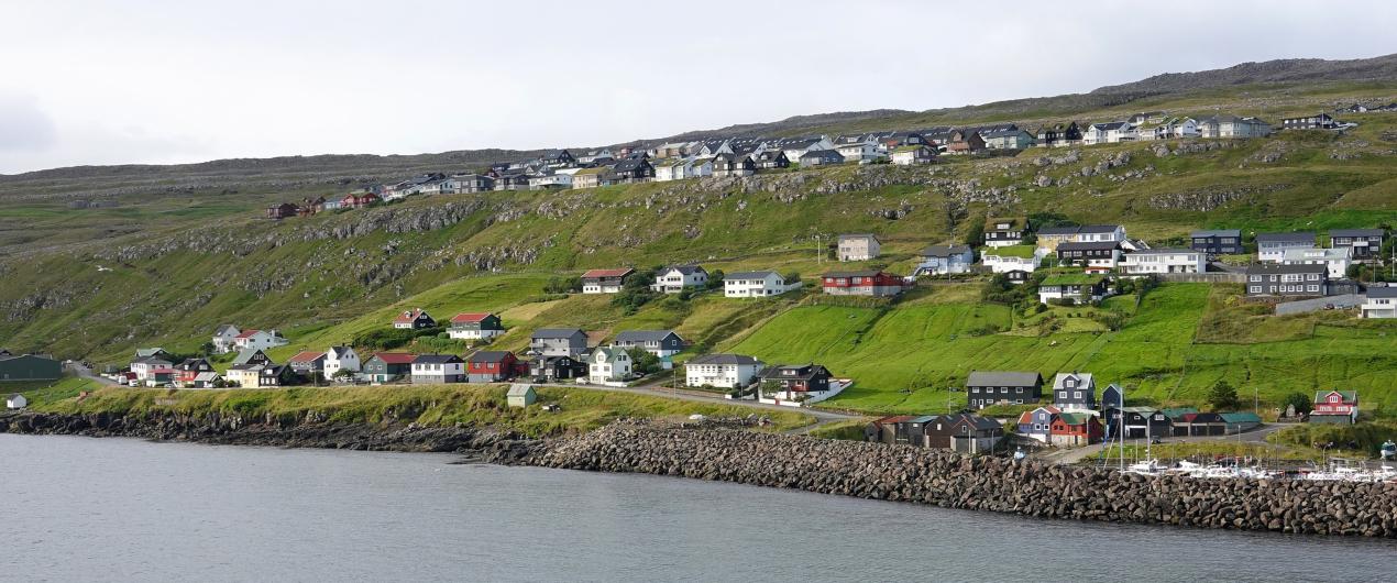 Torshavn in Faroe Islands