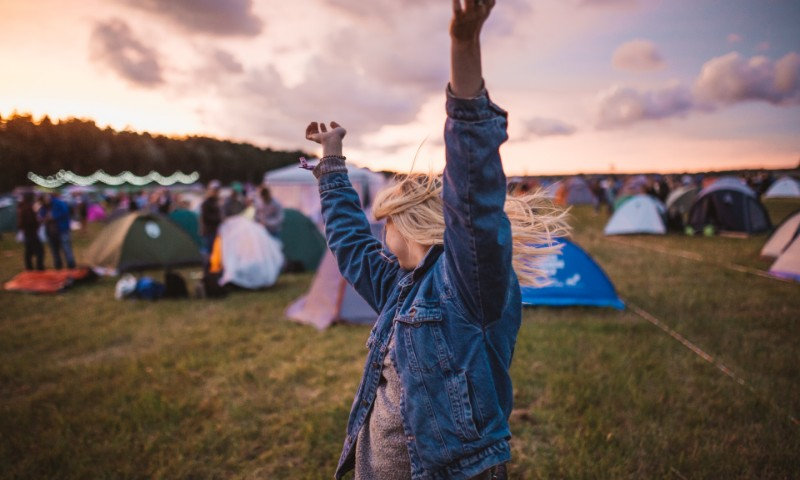 Woman at Festival