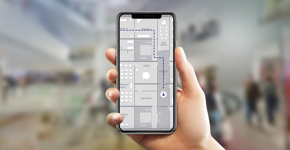 Indoor maps, mobile location app, indoor navigation